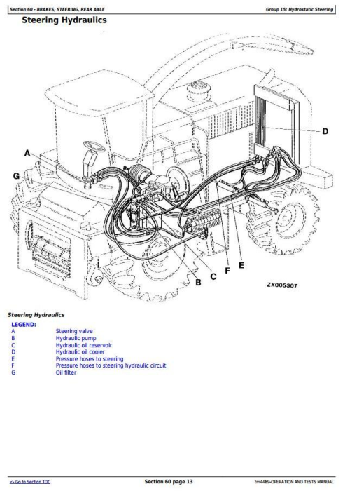 Second Additional product image for - John Deere 6610, 6710, 6810, 6910 Self-Propelled Forage Harvester Diagnostic Service Manual (tm4489)