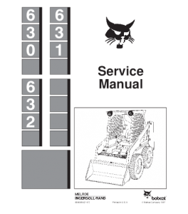 Download Bobcat 630 631 632 Skid Steer Loader Service Repair Manual | eBooks | Automotive