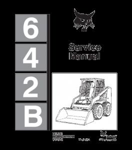 Download Bobcat 642b Skid Steer Loader Service Repair Manual   eBooks   Automotive