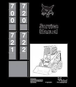 Download Bobcat 700 720 721 722 Skid Steer Loader Service Repair Manual | eBooks | Automotive