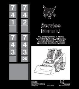 Download Bobcat 741 742 743 743ds Skid Steer Loader Service Repair Manual | eBooks | Automotive