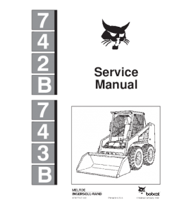 Download Bobcat 742b 743b Skid Steer Loader Service Repair Manual | eBooks | Automotive