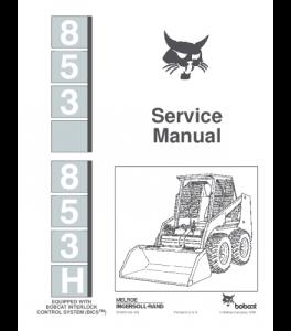 Download Bobcat 853 853h Skid Steer Loader Service Repair Manual | eBooks | Automotive