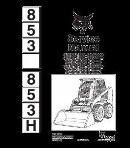 Download Bobcat 853 853h Skid Steer Loader Service Repair Manual   eBooks   Automotive