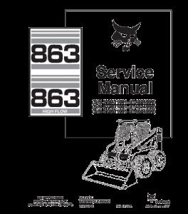 Download Bobcat 863 Skid Steer Loader Service Repair Manual   eBooks   Automotive