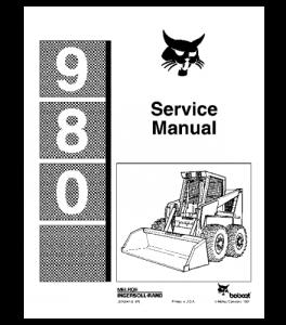 download bobcat 980 skid steer loader service repair manual