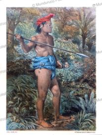 chief of the forest people, borneo, carl bock, 1882