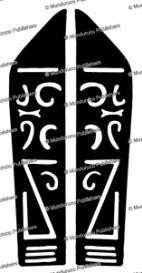 bakatan throat design, tree gecko, borneo, charles hose, 1912