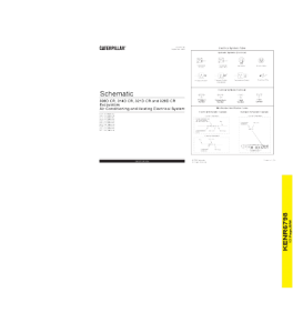 download cat caterpillar air conditioning and heating electrical system schematic 308d cr 314d cr 321d cr 328d cr excavator service repair manual
