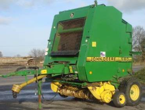 john deere 540,545, 550,570, 580,590 hay& forage round balers all inclusive technical manual(tm3265)