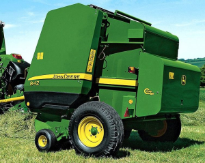john deere 842, 852, 854, 862, 864 hay&forage round balers all inclusive technical manual (tm300119)