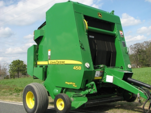 John Deere 448 and 458 Standard Hay and Forage Round Balers Service Repair  Technical Manual (TM1734)