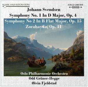 johan severin svendsen: symphonies nos. 1&2; zorahayda, symphonic poem