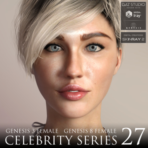 celebrity series 27 for genesis 3 and genesis 8 female