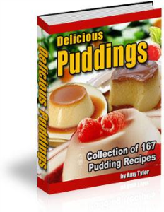 delicious puddings collection of 167 pudding recipes