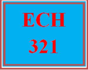 ech 321 week 4 self-assessment of dispositions