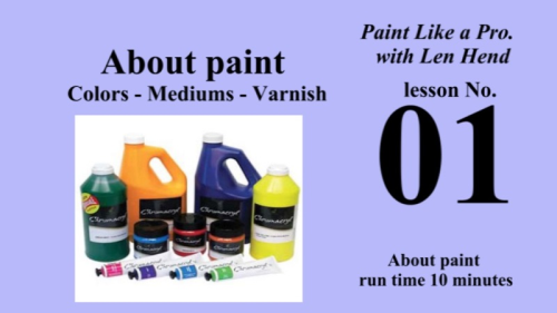 First Additional product image for - Paint Like a Pro 1