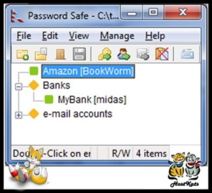 password safe portable - password manager