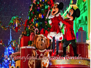 a disneyland christmas parade