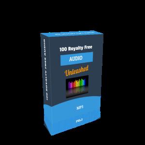 100 royalty free audio