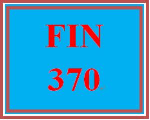 fin 370 week 1 apply: finance and financial statement analysis homework