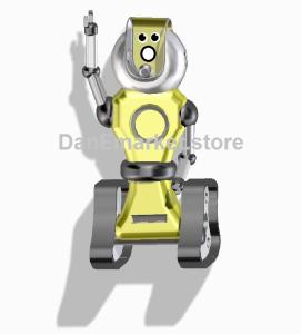 robot shouting