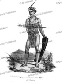 Alfur from Tondano, Celebes, Louis Aguste de Sainson, 1830 | Photos and Images | Travel