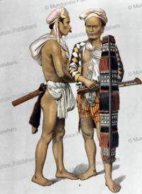 alfur warriors of the topebatoe tribe of celebes, r. raar, 1886