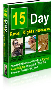 15 Day Resell Rights Success | eBooks | Business and Money