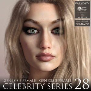 celebrity series 28 for genesis 3 and genesis 8 female