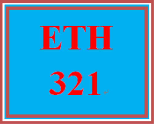 First Additional product image for - ETH 321 Week 1 Apply: Alternative Dispute Resolution (ADR), Ethics and Risk Management Study