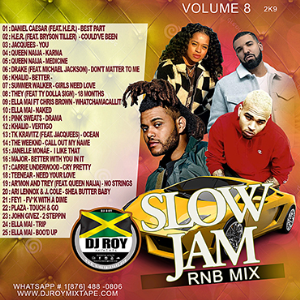 dj roy r&b slow jam mix vol.8 2019