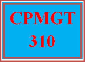 cpmgt 310 week 2 methodology comparison