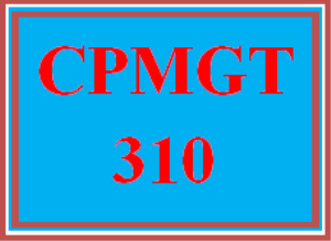 cpmgt 310 week 5 project manager certifications