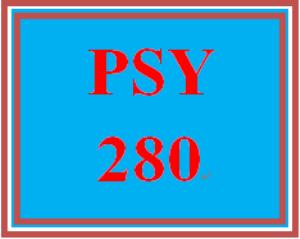 psy 280 week 5 developmental issues presentation