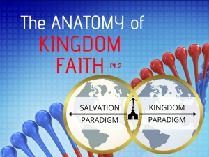 the anatomy of kingdom faith pt.2