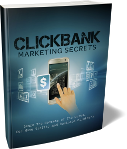clickbank marketing secrets ebook & 3 free bonus pdf's