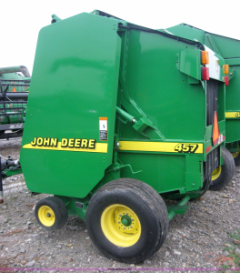 john deere 457, 457, 557 silage special round balers operator manual
