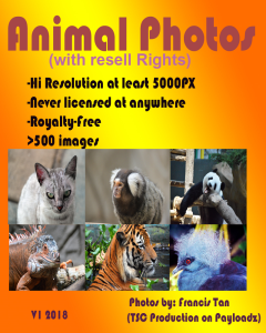 rf animal photos with resell rights (new)