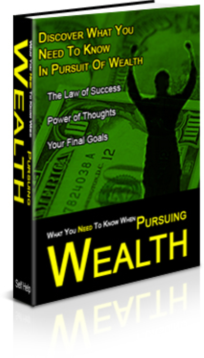First Additional product image for - What You Need To Know When Pursuing Wealth
