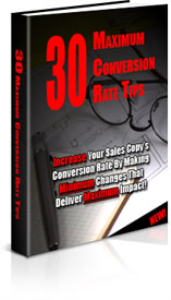 30 Maximum Conversion Rate Tips | eBooks | Business and Money