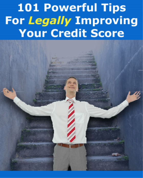 Second Additional product image for - 101 Powerful Tips For Legally Improving Your Credit Score