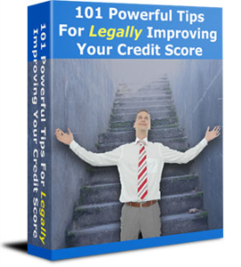 101 Powerful Tips For Legally Improving Your Credit Score | eBooks | Reference