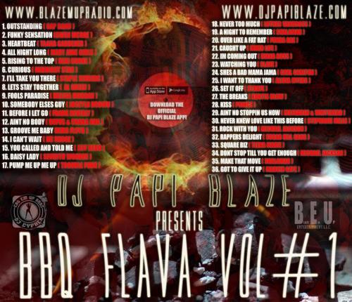 First Additional product image for - Dj Papi Blaze Bbq Flava Vol#1