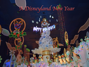 a disneyland new year