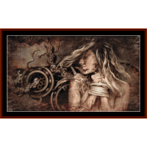 Surreal Manipulation - Fantasy cross stitch pattern by Cross Stitch Collectibles | Crafting | Cross-Stitch | Other