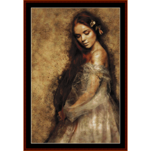 ethereal beauty - fantasy cross stitch pattern by cross stitch collectibles