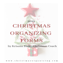 2019 Christmas Organizing Forms PDF | Other Files | Everything Else