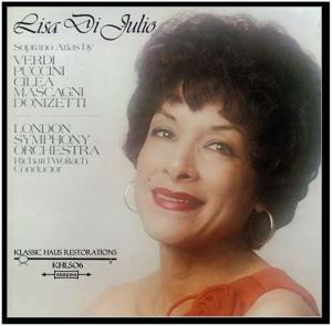 lisa di julio (soprano) - opera arias
