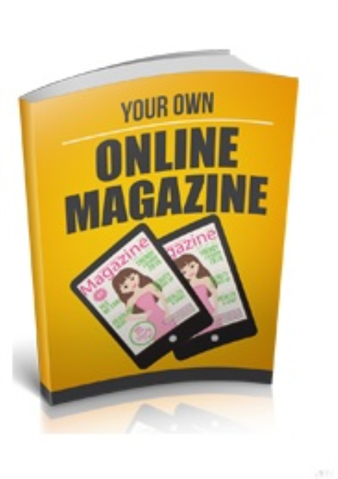 First Additional product image for - Your Own Online Magazine
